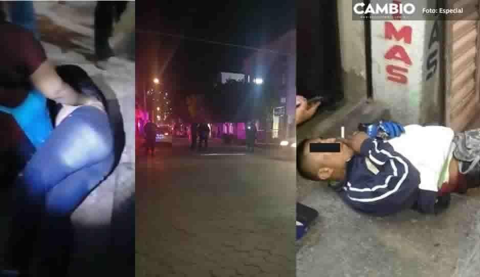 Balacera en el centro de Izúcar deja saldo de 5 lesionados