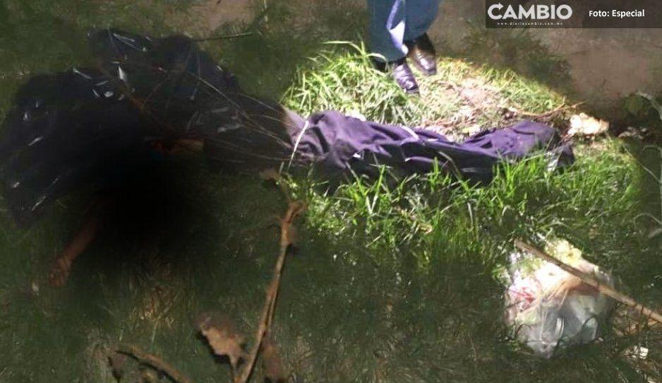 De terror: hallan cadáver decapitado y embolsado en la junta auxiliar de San Sebastián