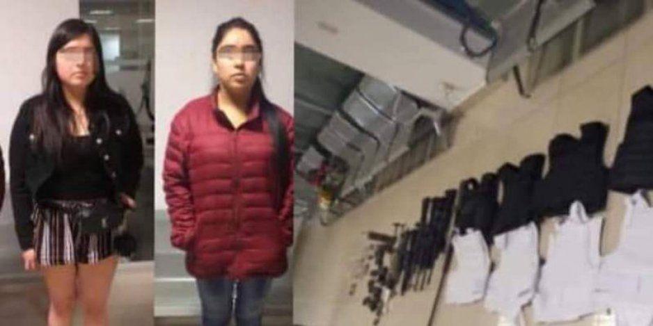 Sobrina del Marro y amiga aterrorizan Guanajuato; las detienen con fuerte arsenal