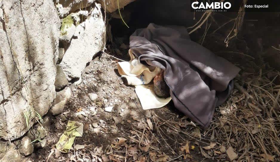 Abandonan a niña recién nacida en límites de Texmelucan y El Verde