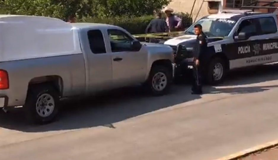 Dejan cabeza humana cerca de primaria en Huachinango, se relacionaría con embolsado de la México-Tuxpan (VIDEO)