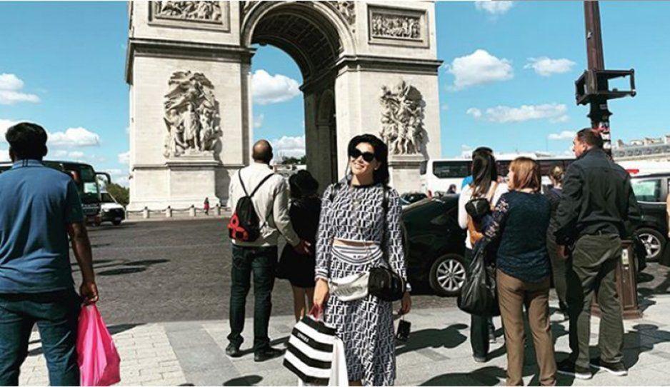 La Nacaranda en París: Critican a Gomita por presumir lujoso viaje de cumpleaños