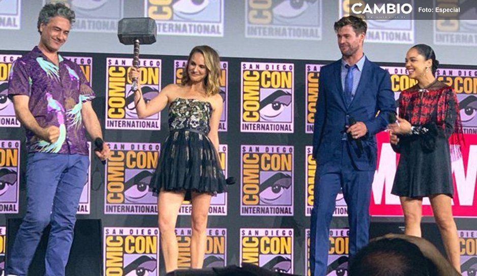 Thor 4 se llamará  Thor: Love and Thunder, y Natalie Portman será la diosa del trueno
