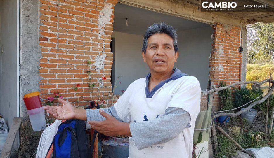 Autoridades de Cuautlancingo, coludidas con  inmobiliaria para despojar a familias: afectados