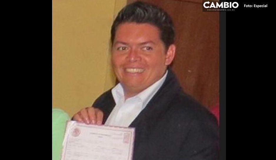 Desaparece Luis Tinoco Cervantes, delegado de la SGG en Huejotzingo ¡Ayúdanos a encontrarlo!