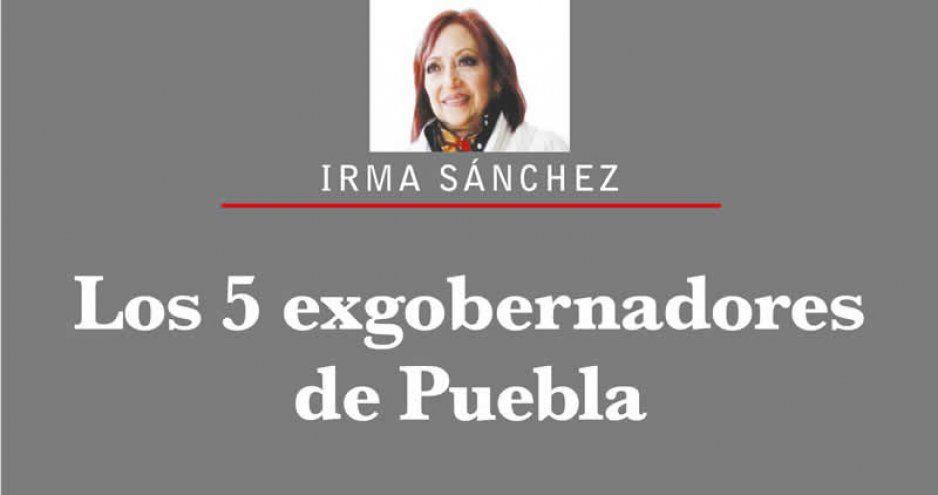 LOS 5 EX GOBERNADORES DE PUEBLA