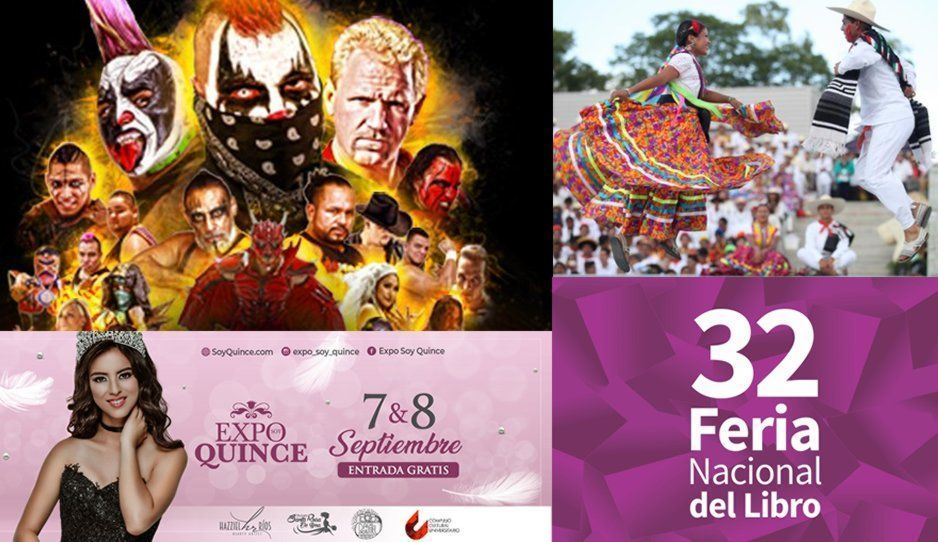 Gira AAA, Expo soy quince, Guelaguetza, Feria Nacional del Libro y muchas cosas más que hacer en Puebla el fin de semana
