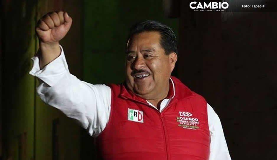 Rosendo Morales Sánchez se lleva alcaldía de Ocoyucan para el PRI
