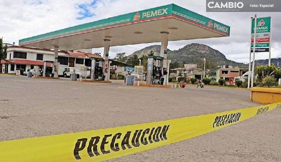 Presume AMLO gasolinera del Huachicol en Puebla como una de las más baratas del país