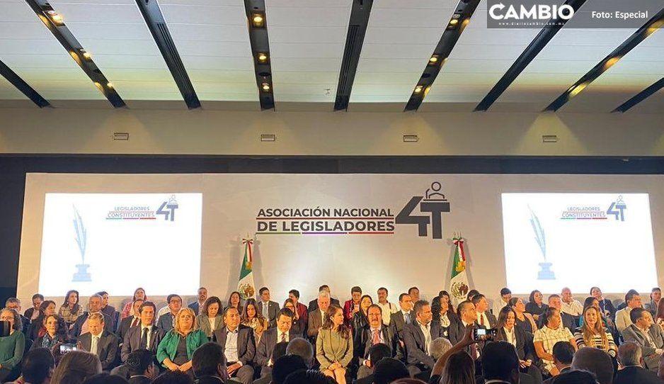 Diputados poblanos se adhieren a la Nacional de Legisladores de la 4T