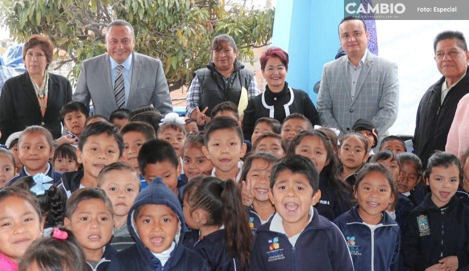 Ciudadanía y Ayuntamiento de Atlixco unen  esfuerzos con programa en pro de educación