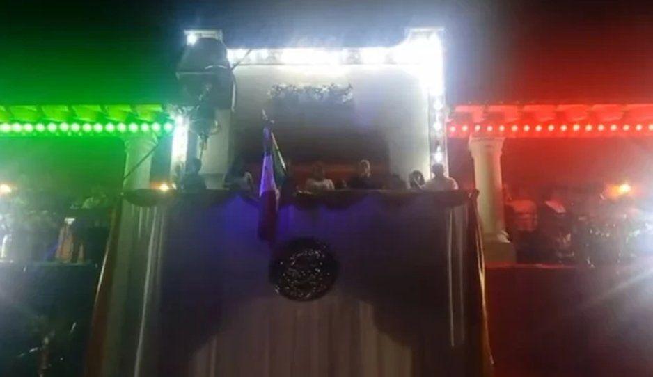 Alcalde de Morelos dio el Grito de Independencia desde la cárcel