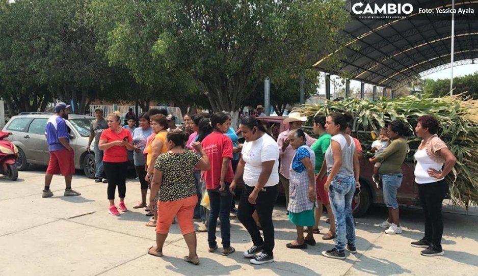 Pobladores denuncian destitución de edil auxiliar en Izúcar de Matamoros