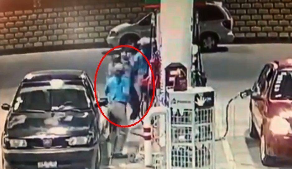 VIDEO: Así fue el asalto a la gasolinera de la 141 Poniente