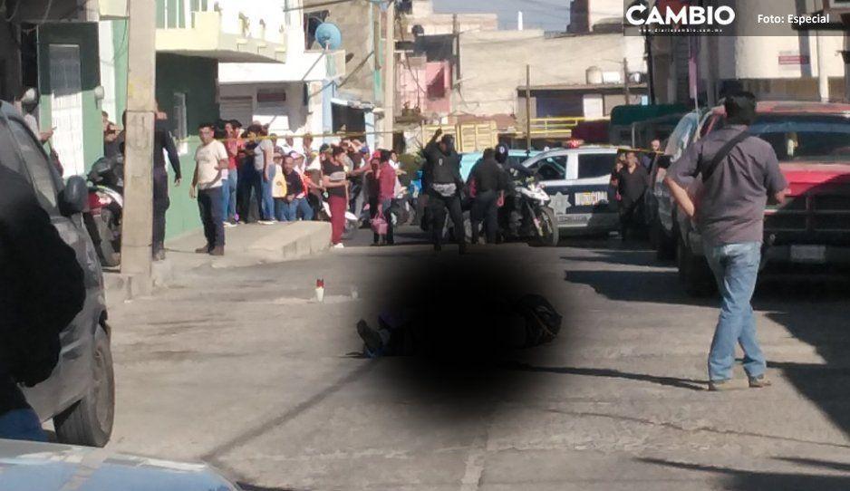 Dejan dos encobijados en Texmelucan, uno  con un narcomensaje firmado por Patrón