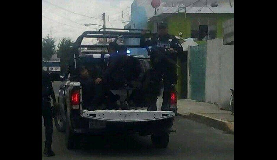 Roban taxi en Bosques de Manzanilla y son detenidos en la Viveros del Valle