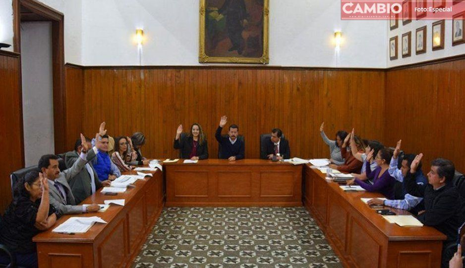 Aprueba Cabildo de San Pedro Cholula presupuesto de egresos 2020; seguridad pública y programas sociales son prioridad