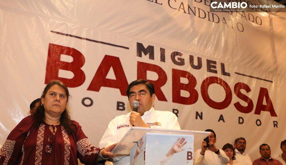 Barbosa ofrece ante sindicato indemnizar a trabajadores despedidos por Moreno Valle