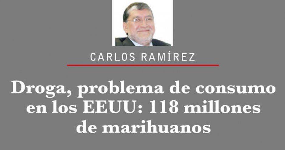 Droga, problema de consumo en los EEUU: 118 millones de marihuanos