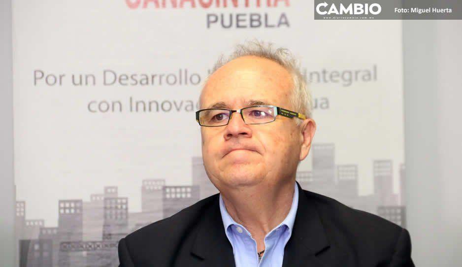 Parques industriales de Puebla están inservibles y reina la inseguridad: Canacintra