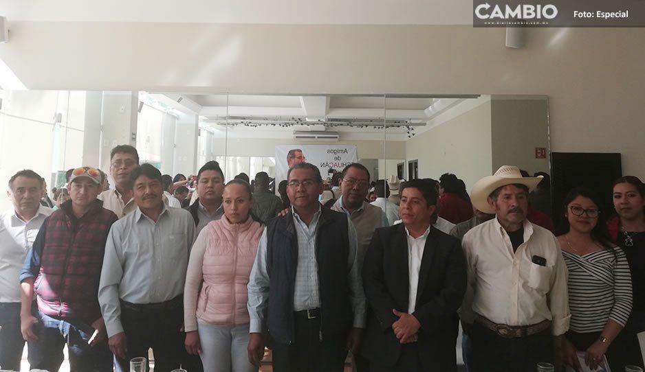 Jiménez Merino se destapa como aspirante a la gubernatura; priistas de Tehuacán lo respaldan