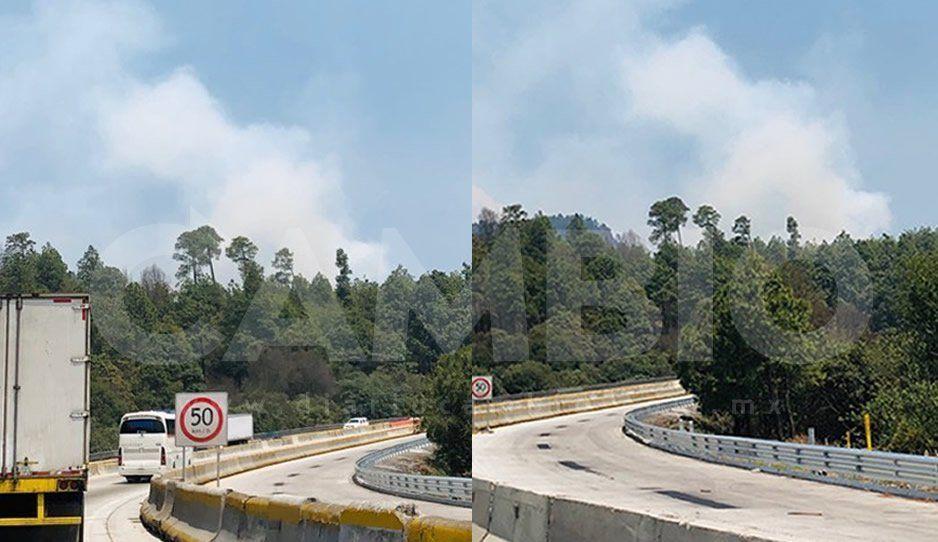 Gran incendio forestal en las faldas del Izta-Popo: la contingencia ambiental no va a parar (VIDEOS)