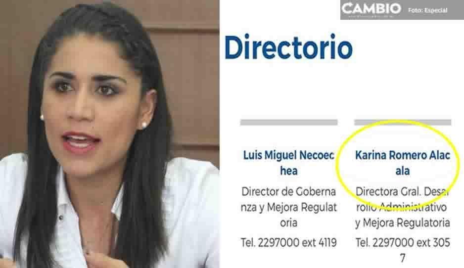 Sigue la fuga de priistas: Karina Romero ya es directora en SFA