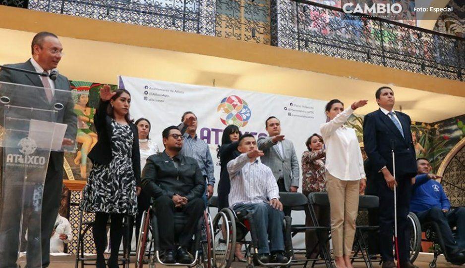 Integra Atlixco el Consejo para el Desarrollo  e Inclusión de las Personas con Discapacidad
