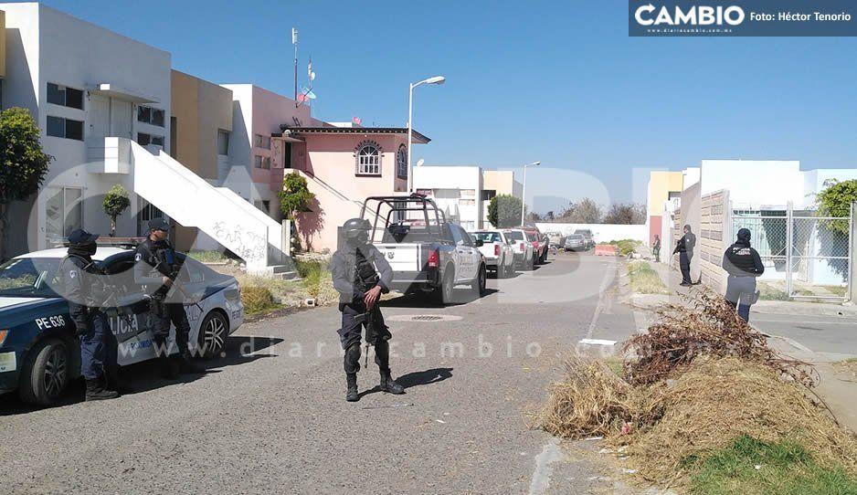 Estatales, municipales y Guardia Nacional continúan con cateos a domicilios de Huejotzingo
