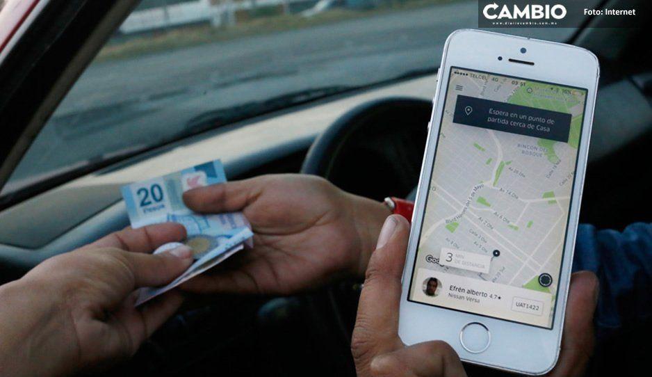 ¡Atención poblanos! Uber vuelve al cobro de efectivo a partir de hoy