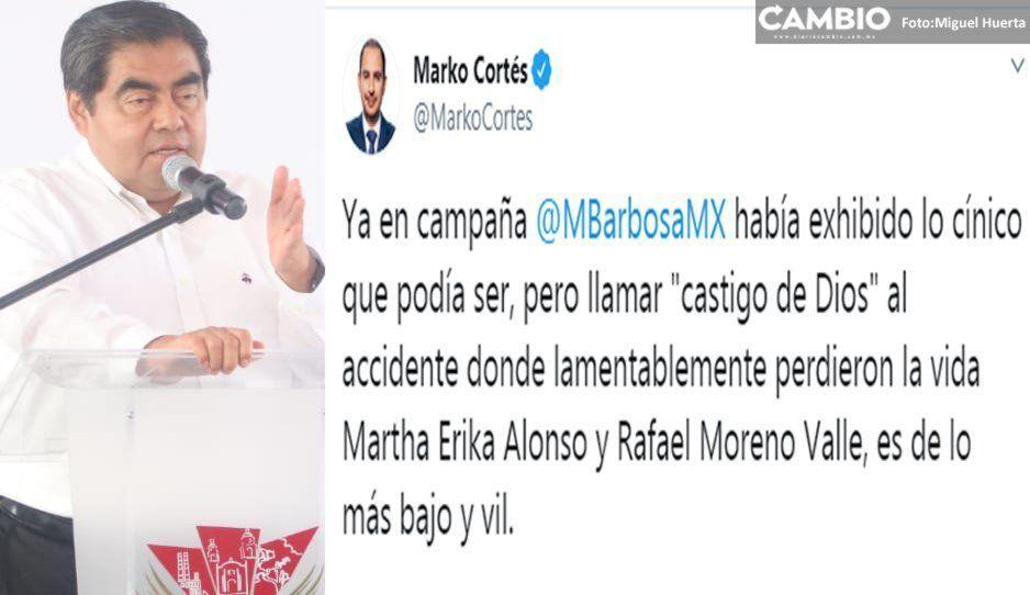 Censuran panistas declaración de Barbosa