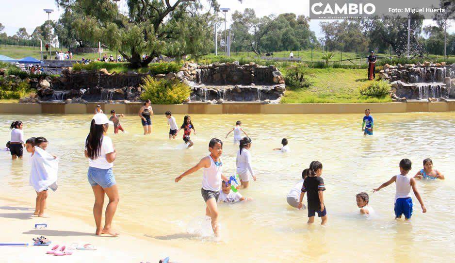Claudia sólo pudo mantener Playas Amalucan un mes, reabrirá hasta Semana Santa de 2020