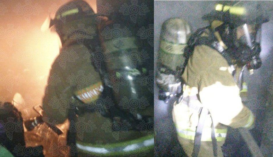 Incendio de almacén alerta a vecinos de Lomas de San Miguel