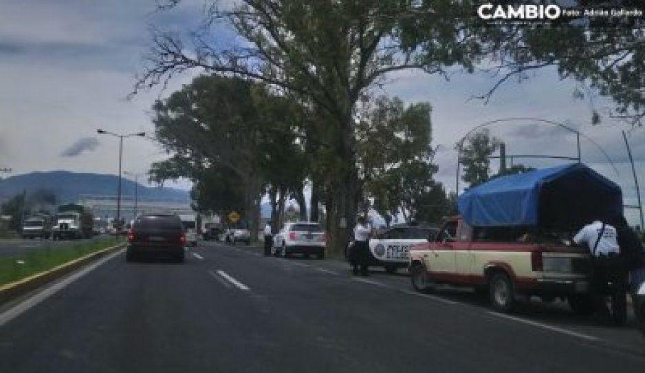 Muere presunto delincuente en enfrentamiento en el tramo Sabinal-La Ermita, en Ciudad Serdán