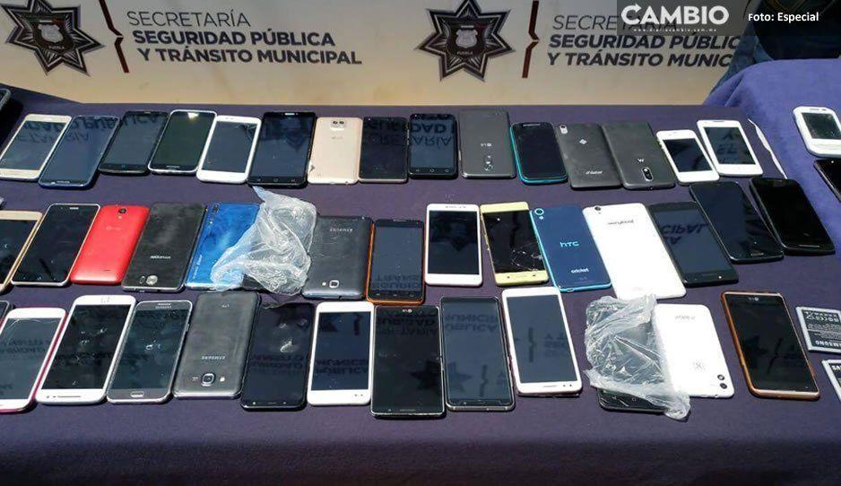 Detienen a siete personas tras operativo en el Centro vs celulares robados de la 8