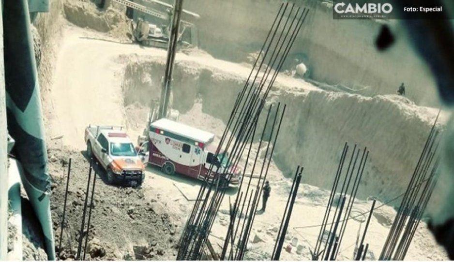 Hombre pierde la vida tras caer de edificio en construcción en Lomas de Angelópolis