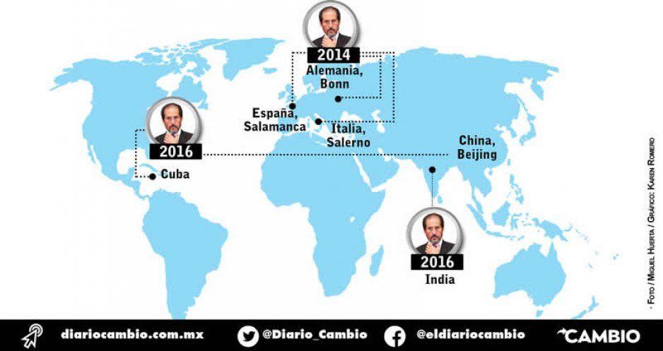 Oculta Esparza costo de nueve viajes internacionales desde 2013