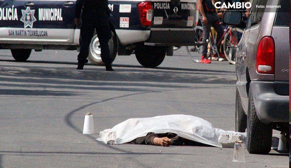 Balacera en Texmelucan deja un muerto en San Baltazar Temaxcalac