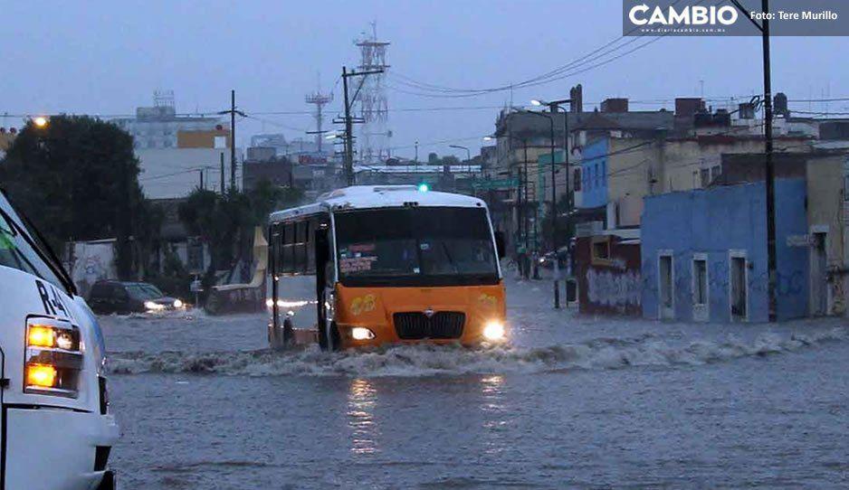 #Atención Se esperan lluvias fuertes y caída de granizo para esta tarde en Puebla