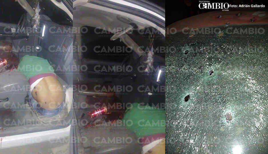 """Persecución y balacera deja un muerto y """"levantados"""" en Acatzingo"""