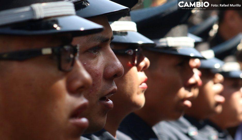 Mil 400 policías tendrán aumento salarial de 3 mil pesos en el 2020