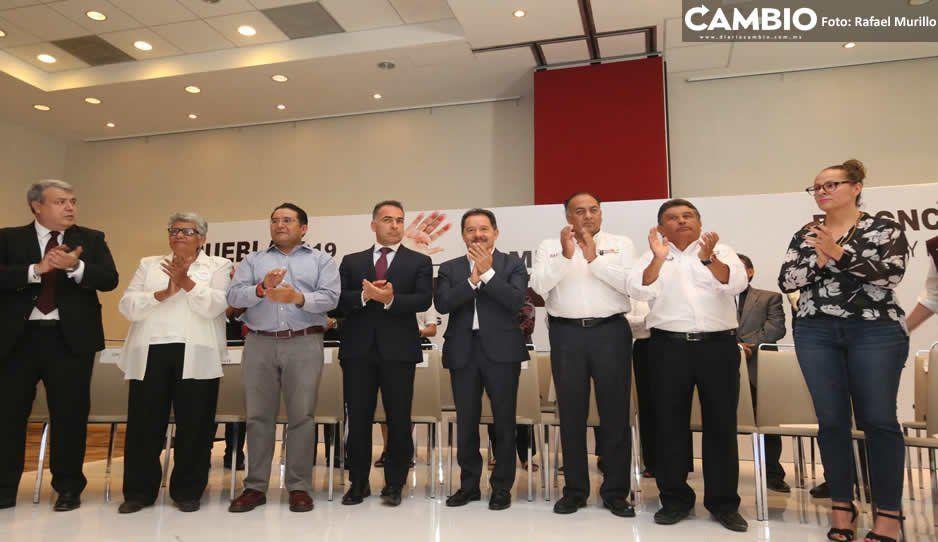 Las 21 mil propuestas ciudadanas se agrupan en el Plan de Gobierno de Barbosa: Mier