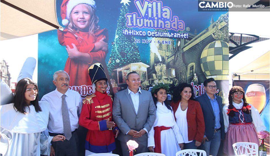 Esperan más de un millón de visitantes en Villa Iluminada de Atlixco (VIDEO)