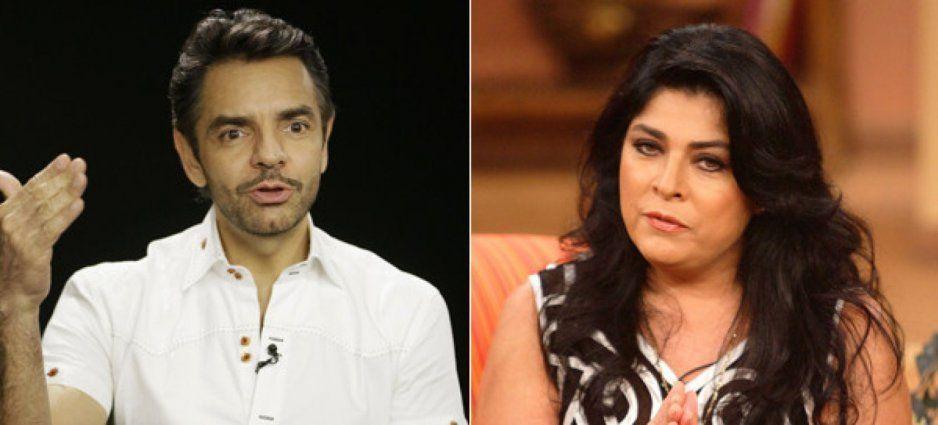 Así le respondió Victoria Ruffo a Eugenio Derbez tras llamarla fiera