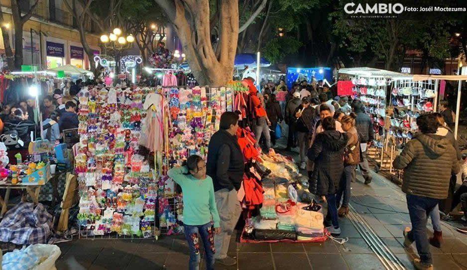 Ambulantes invadirán el Centro Histórico en Semana Santa otorgan 280 permisos