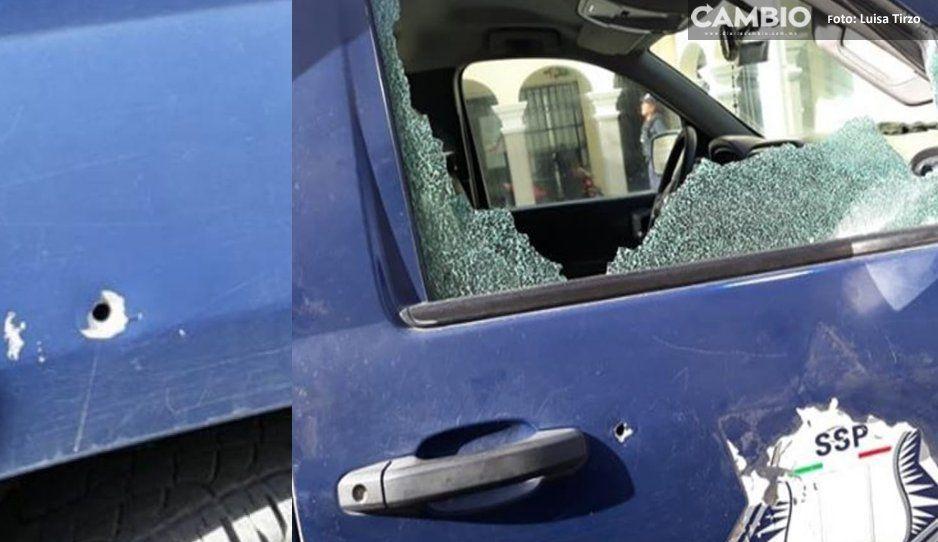 Policías de Nealtican claman apoyo del estado tras ataque de comando armado a comandancia