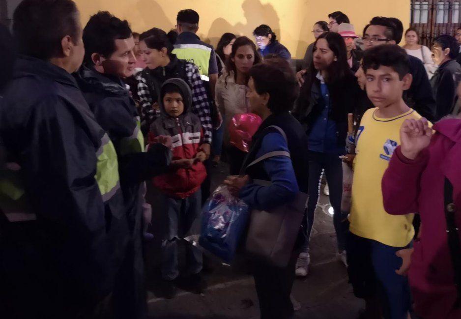 Ocurrencias de Esparza funcionaron: cientos de poblanos asisten a la Casa del Terror en el Carolino