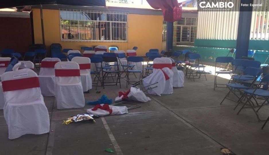 Graduación de terror: Se desata balacera en plena ceremonia y deja tres muertos en preescolar de Acatlán
