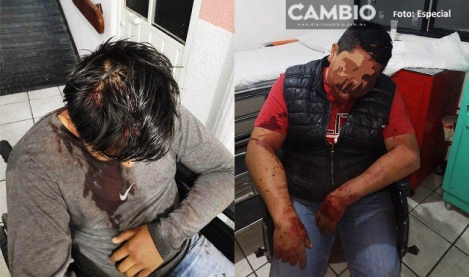 Líder tianguista de Texmelucan fue agredido y amenazado de muerte por el crimen organizado