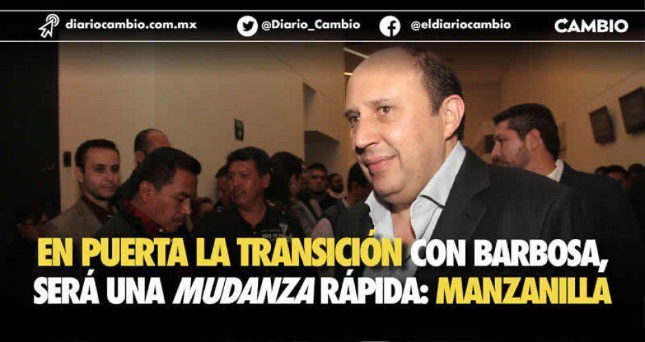 En puerta la transición con Barbosa, será una mudanza rápida: Manzanilla (VIDEO)